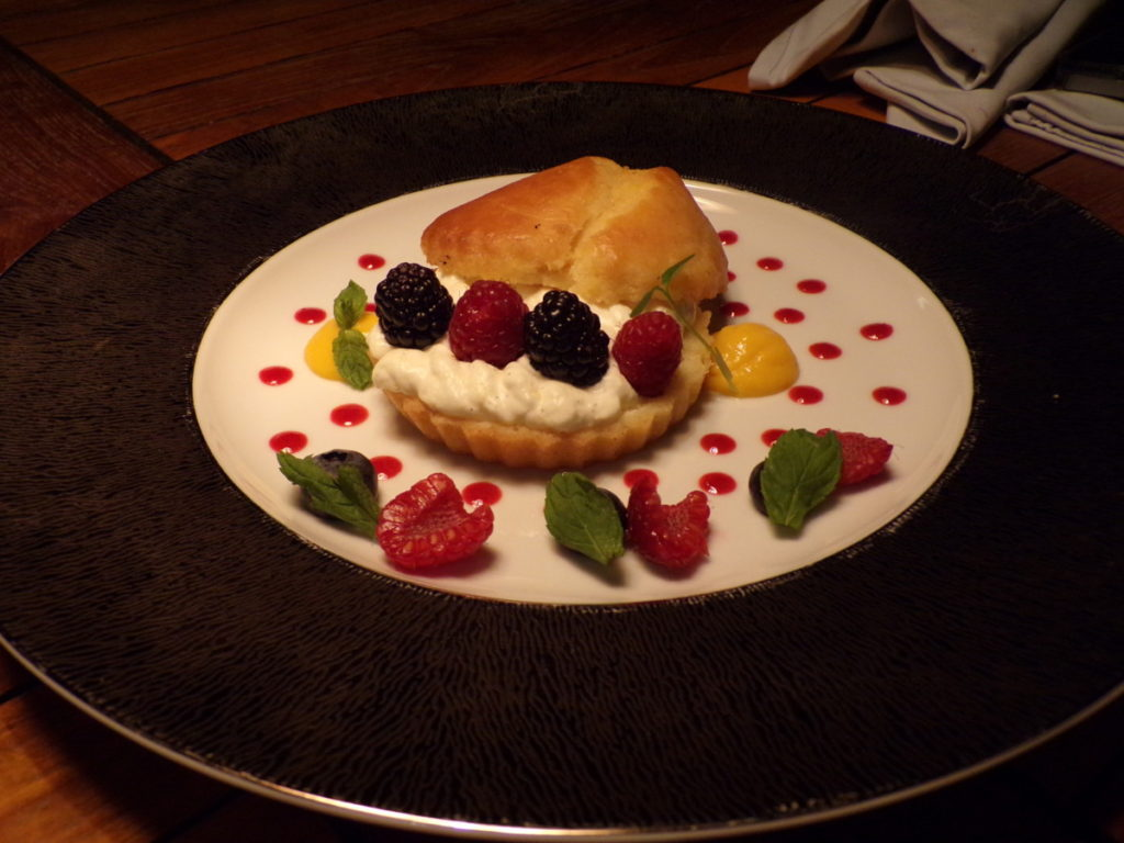 dessert restaurant Al Dana du Sharq Village and Spa Doha Qatar