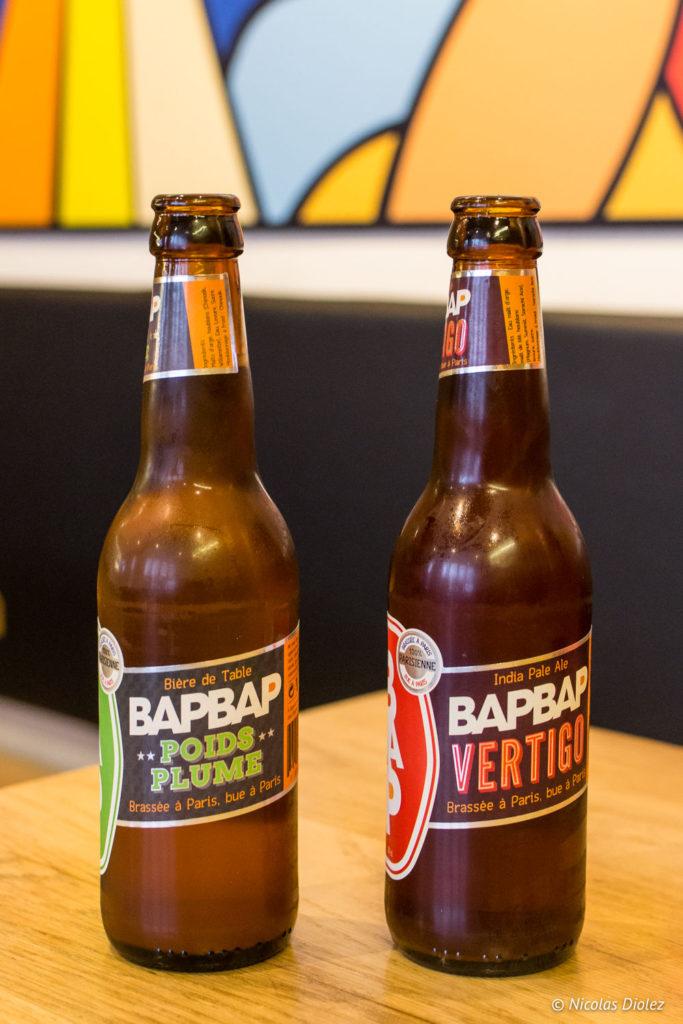bières Bap Bap Comptoir La Brigade Paris