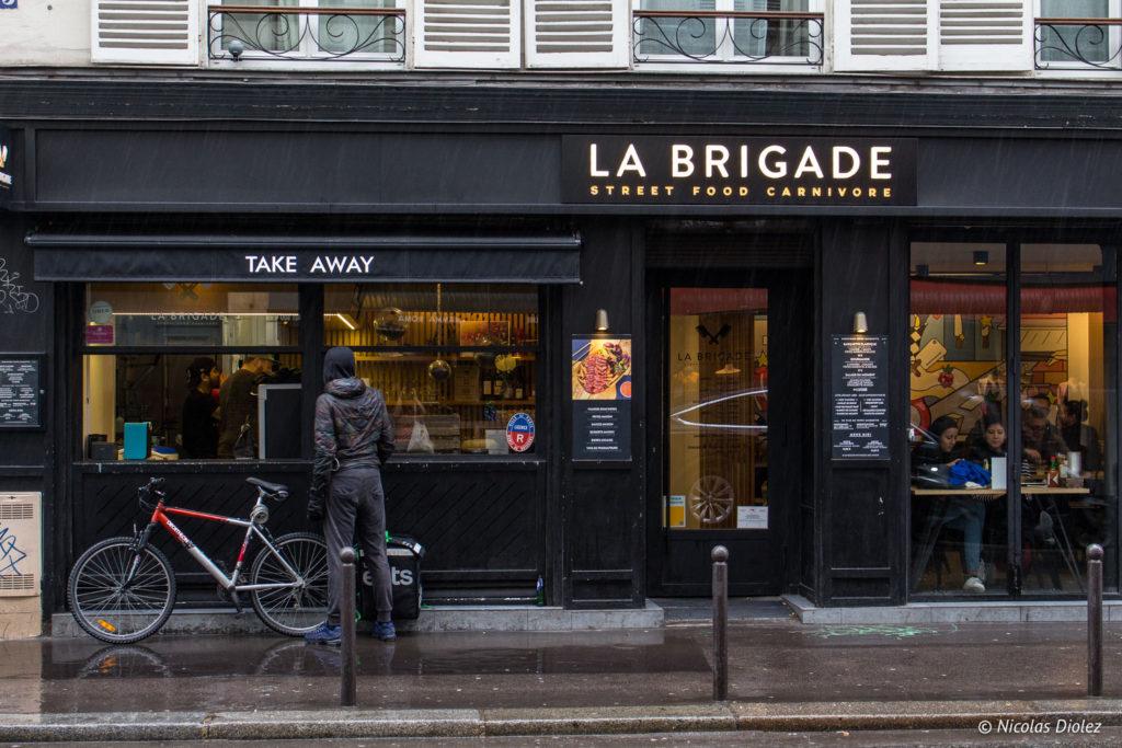 facade Comptoir La Brigade Paris