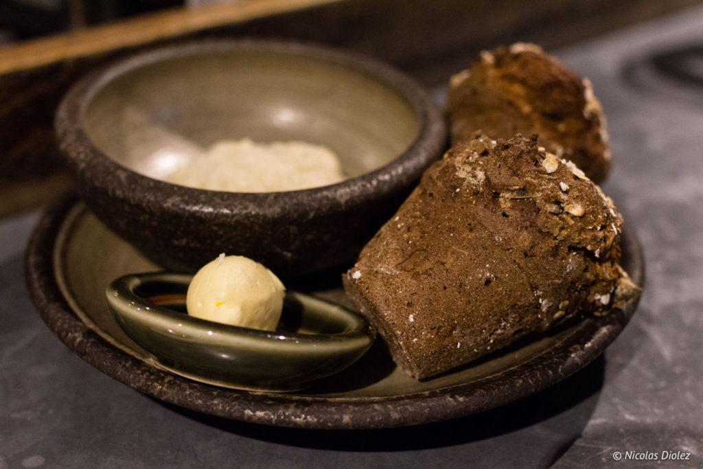 pain beurre Restaurant 64 degrees Brighton