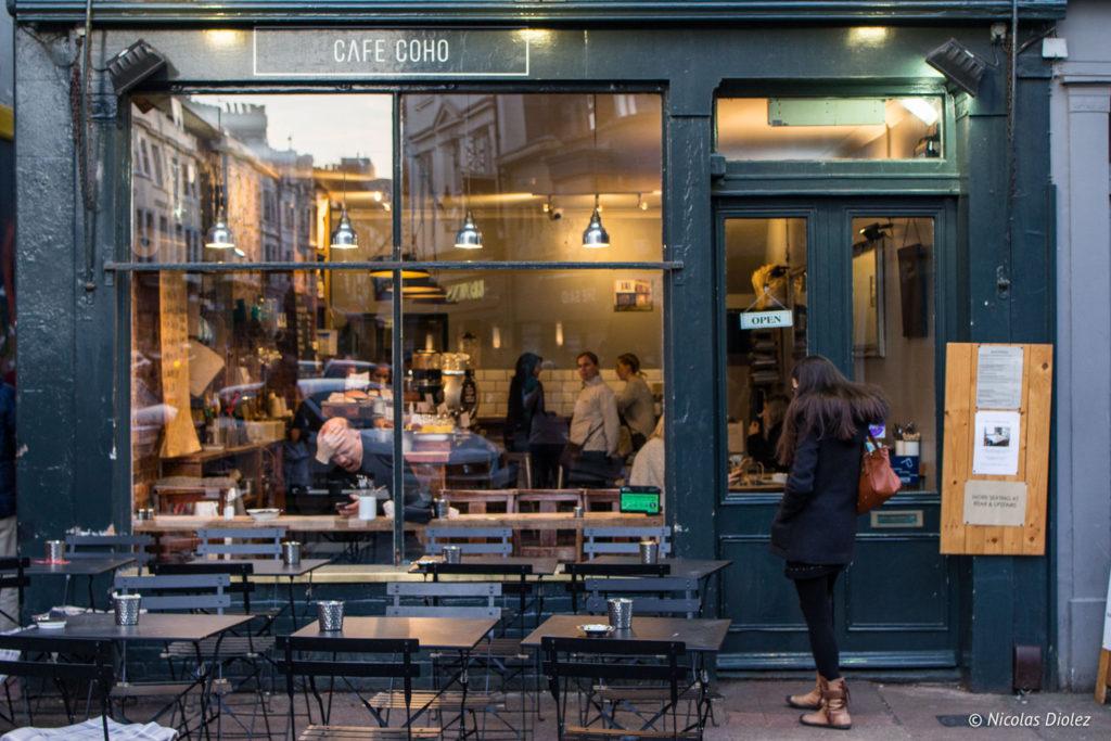 facade Café Coho Brighton