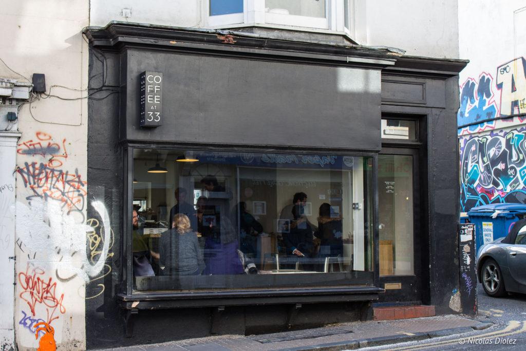 facade Coffee at 33 Brighton