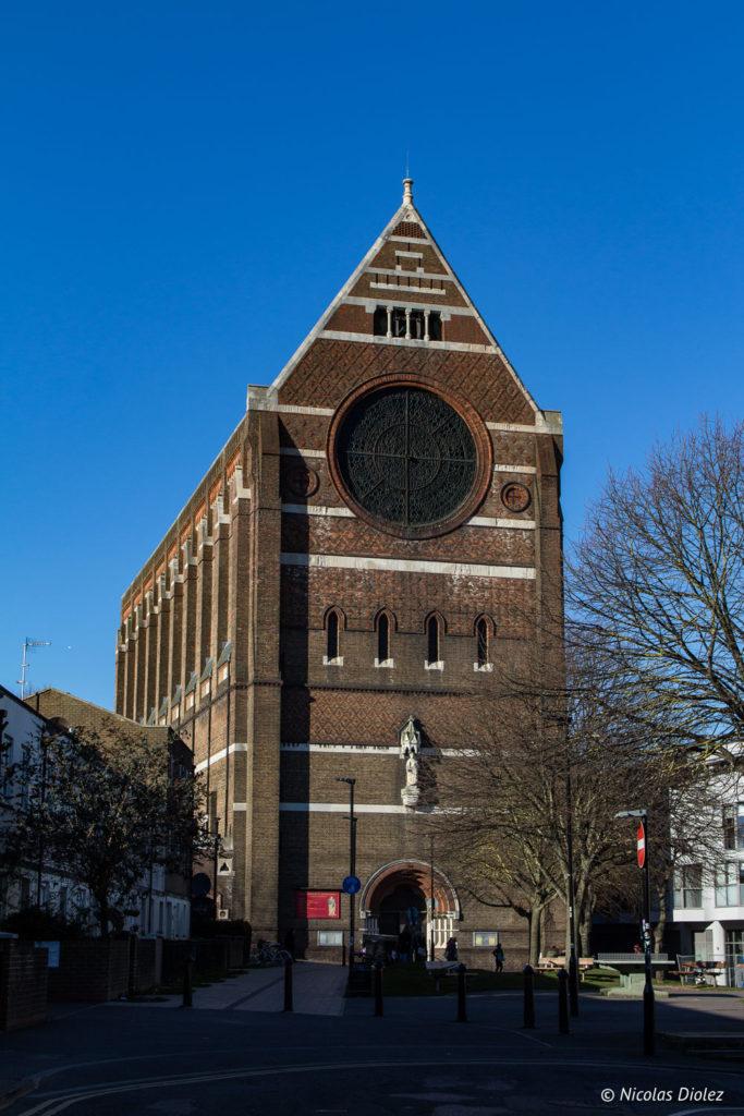 église en briques Brighton