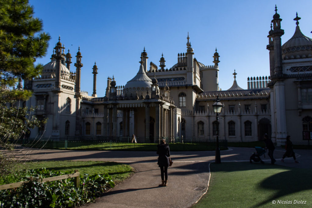 Facade Royal Pavilion Brighton