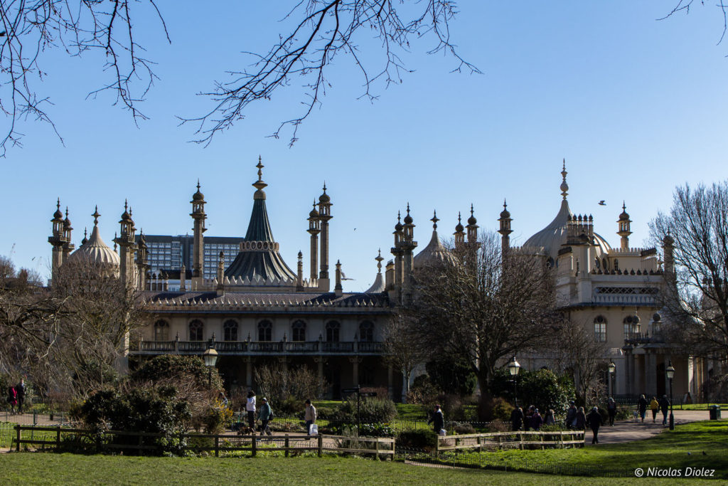 Jardin Royal Pavilion Brighton
