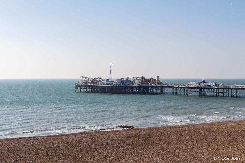 mer et Brighton Palace Pier