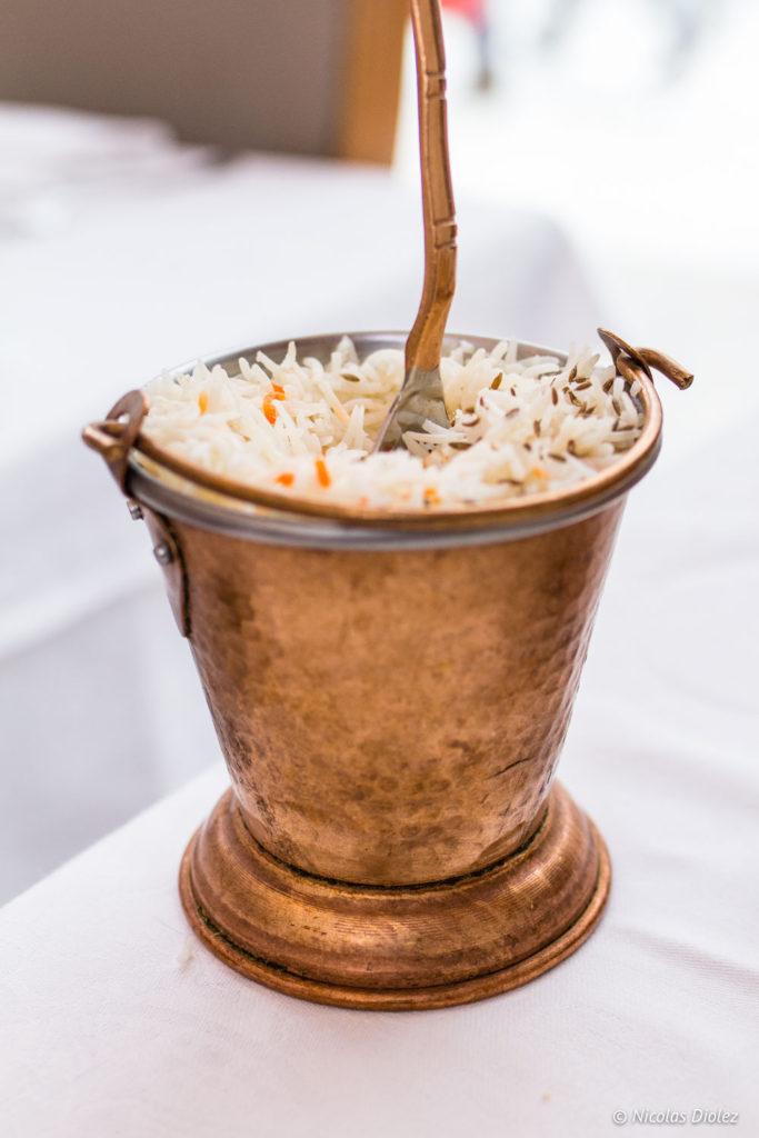 riz basmati restaurant Jodhpur Palace Paris