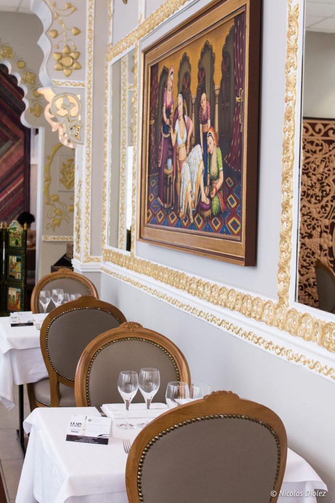 salle restaurant Jodhpur Palace Paris