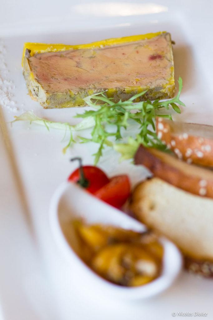 foie gras restaurant Teo Jasmin Beaugency