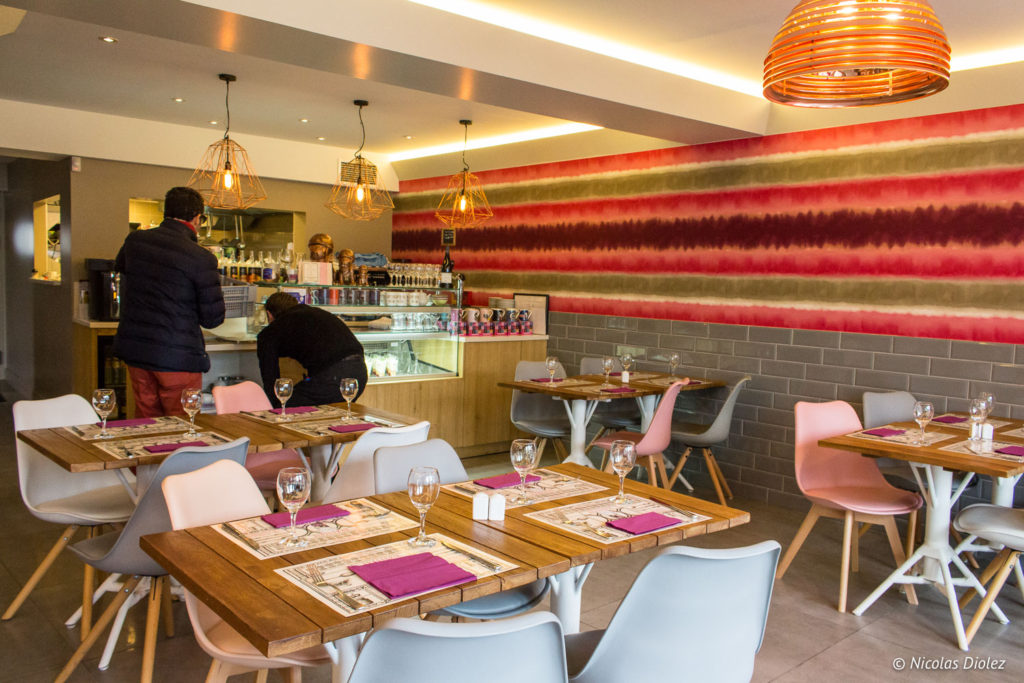 salle restaurant Teo Jasmin Beaugency