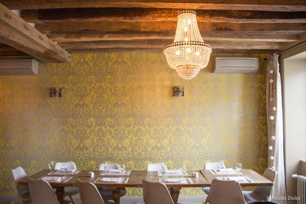 salle étage restaurant Teo Jasmin Beaugency