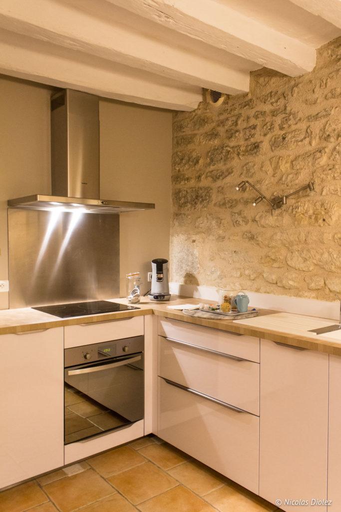 cuisine Gîte Ruelle des Jardins Val de Loire