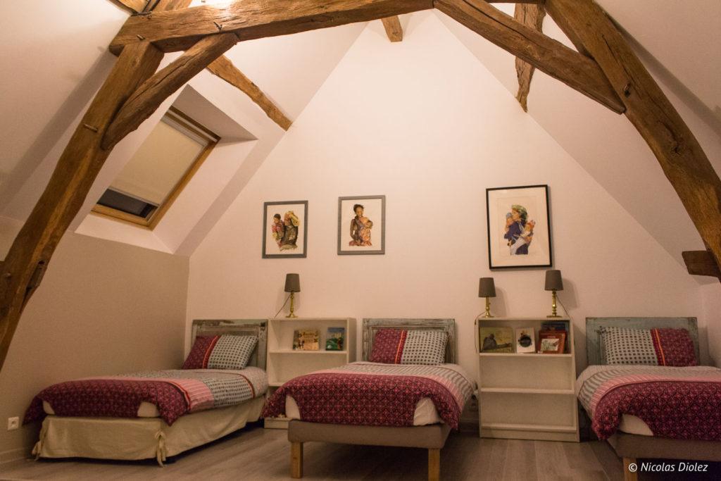 chambre Gîte Ruelle des Jardins Val de Loire