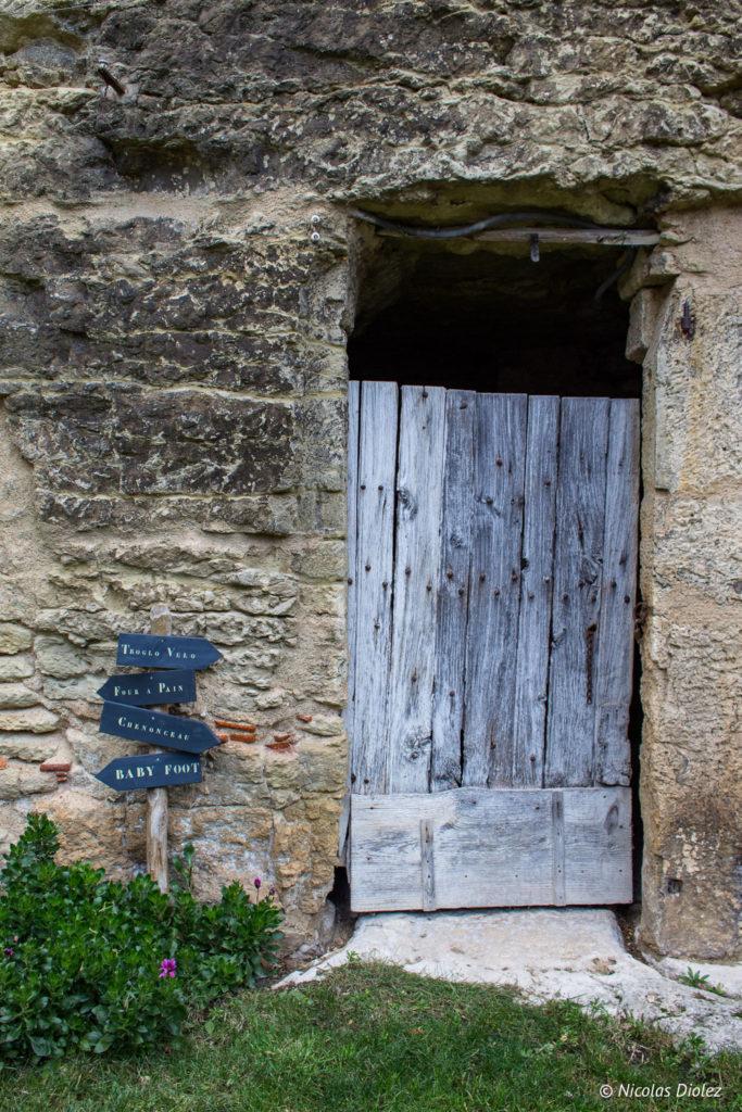 extérieur Gîte Ruelle des Jardins Val de Loire