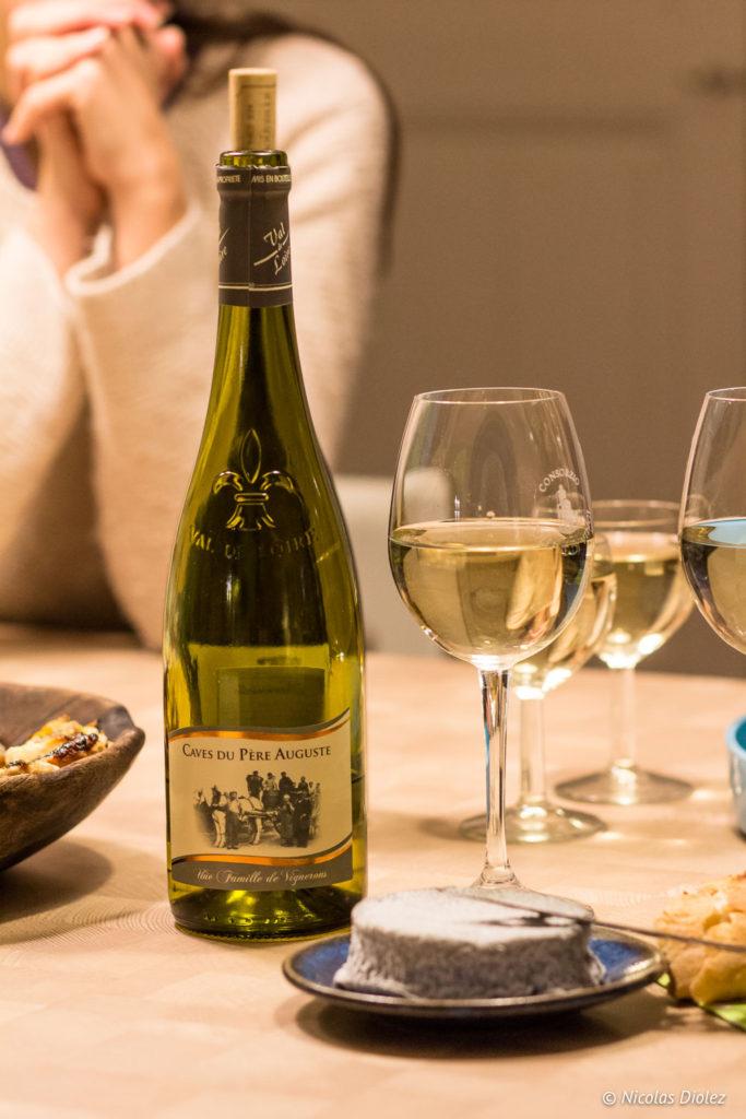 vin de Loire Gîte Ruelle des Jardins Val de Loire