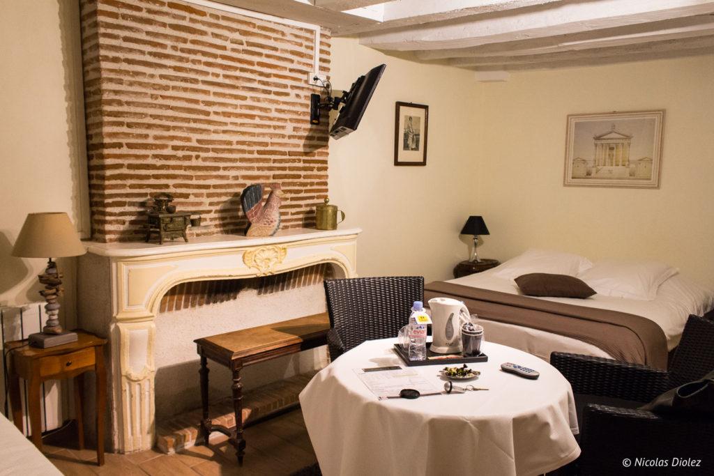 chambre Auberge de la Caillère Val de Loire