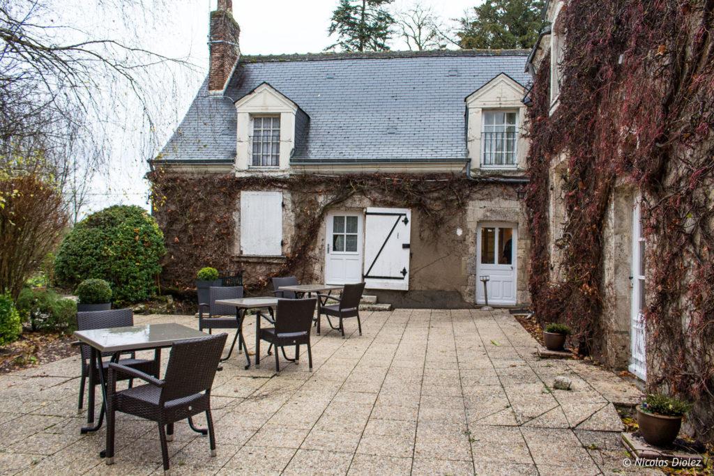 terrasses Auberge de la Caillère Val de Loire