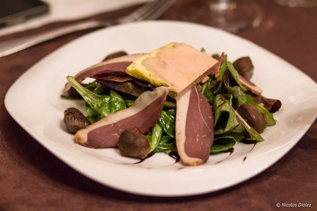 foie gras Restaurant La Charbonnette Onzain