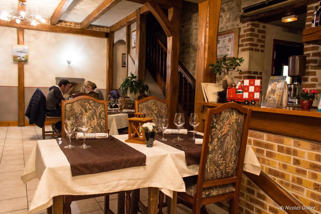salle Restaurant La Charbonnette Onzain