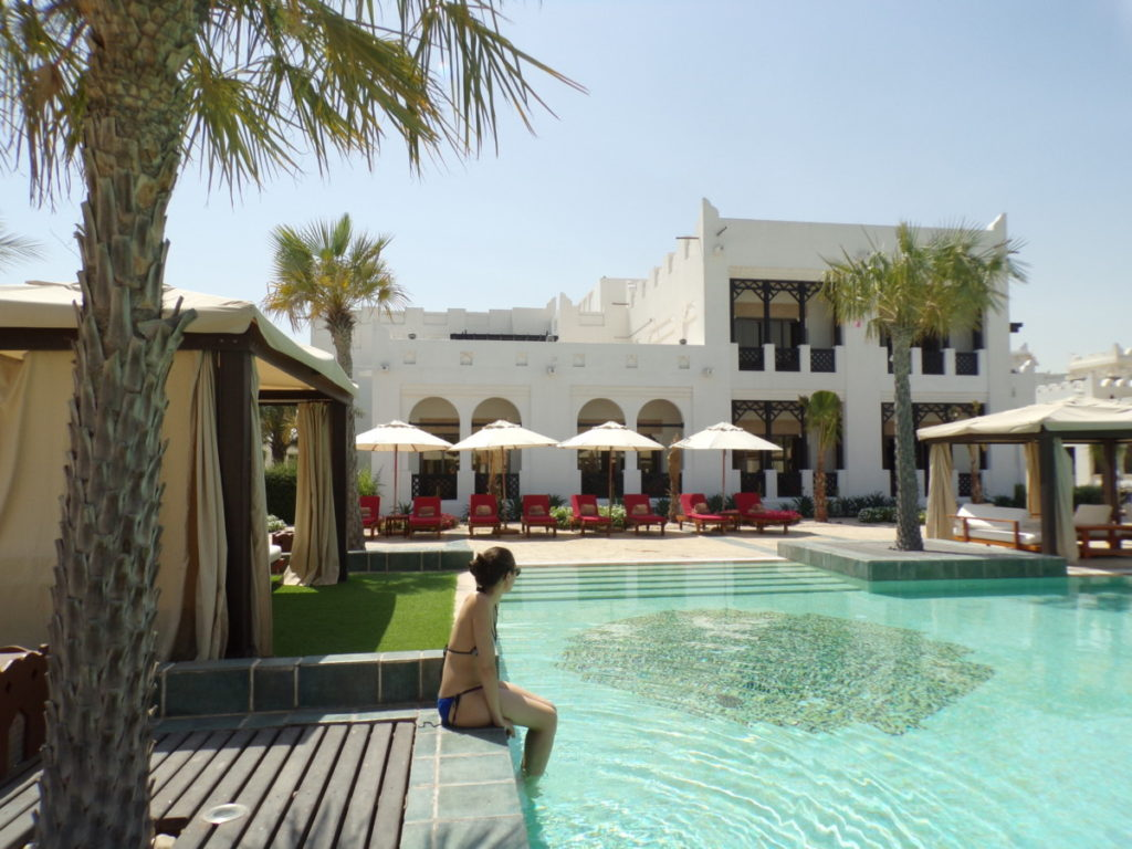 piscine Hôtel Sharq Village and Spa Doha Qatar