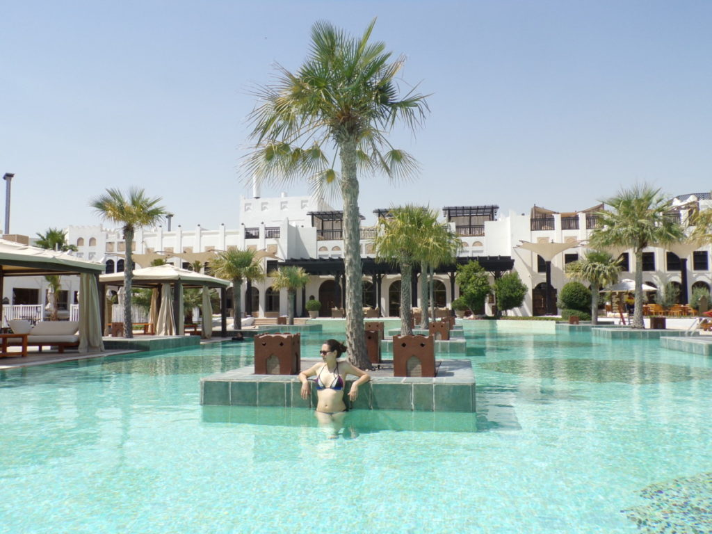 Pîscine Hôtel Sharq Village and Spa Doha Qatar