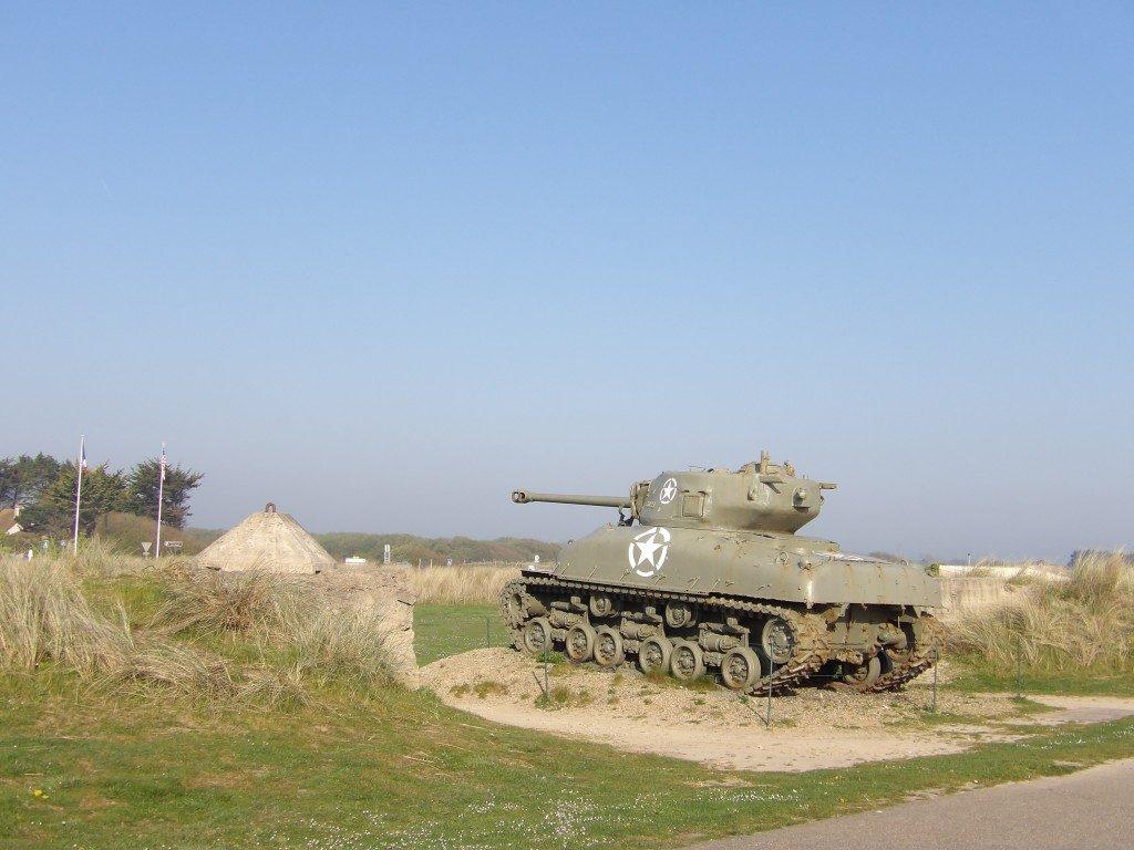 char Musée du Débarquement d'Utah Beach La Manche Normandie