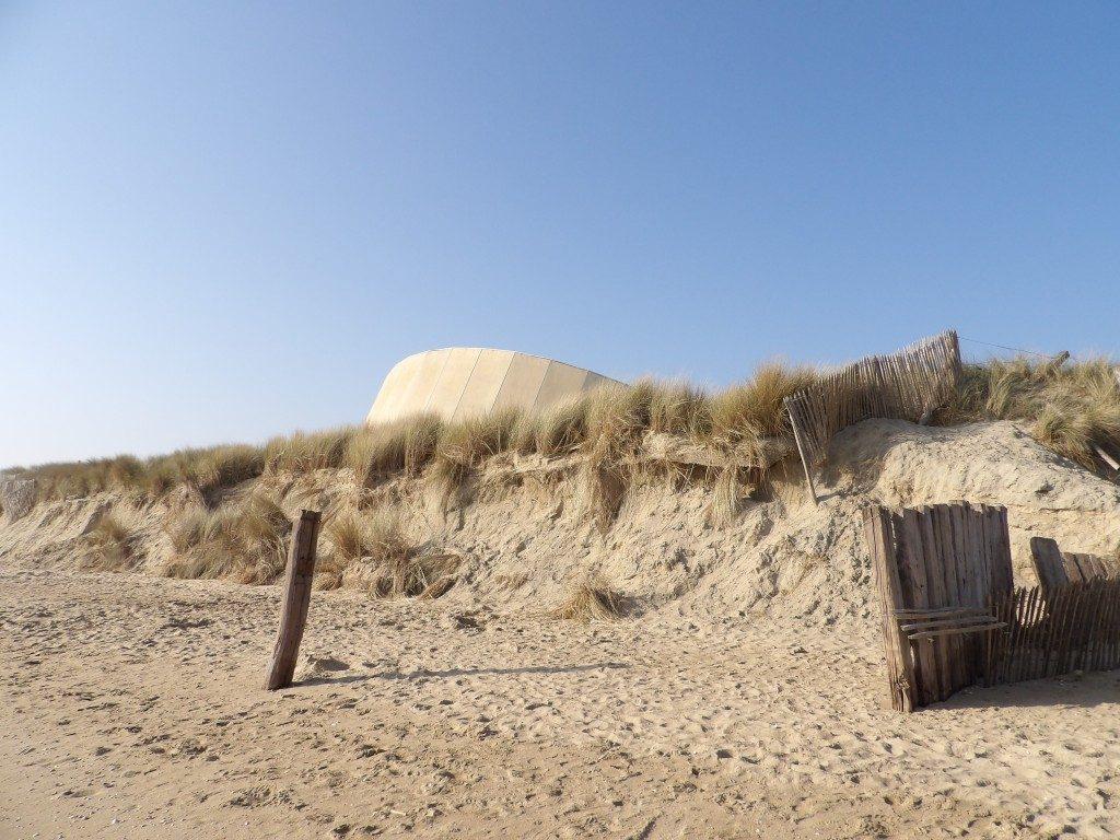 plage Musée du Débarquement d'Utah Beach La Manche Normandie