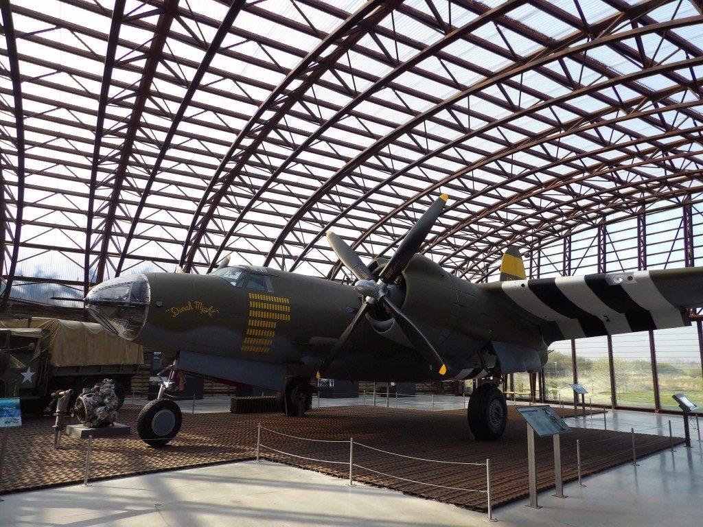 avion Musée du Débarquement d'Utah Beach La Manche Normandie