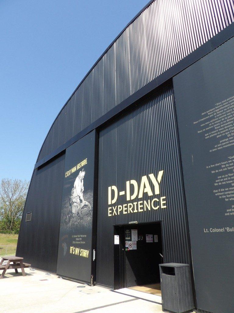 facade D-Day Expérience La Manche Normandie