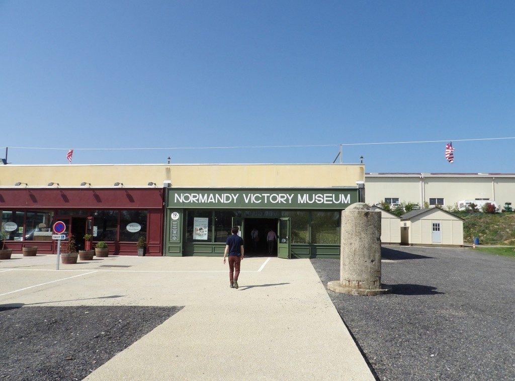 Facade Normandy Victory Museum La Manche Normandie