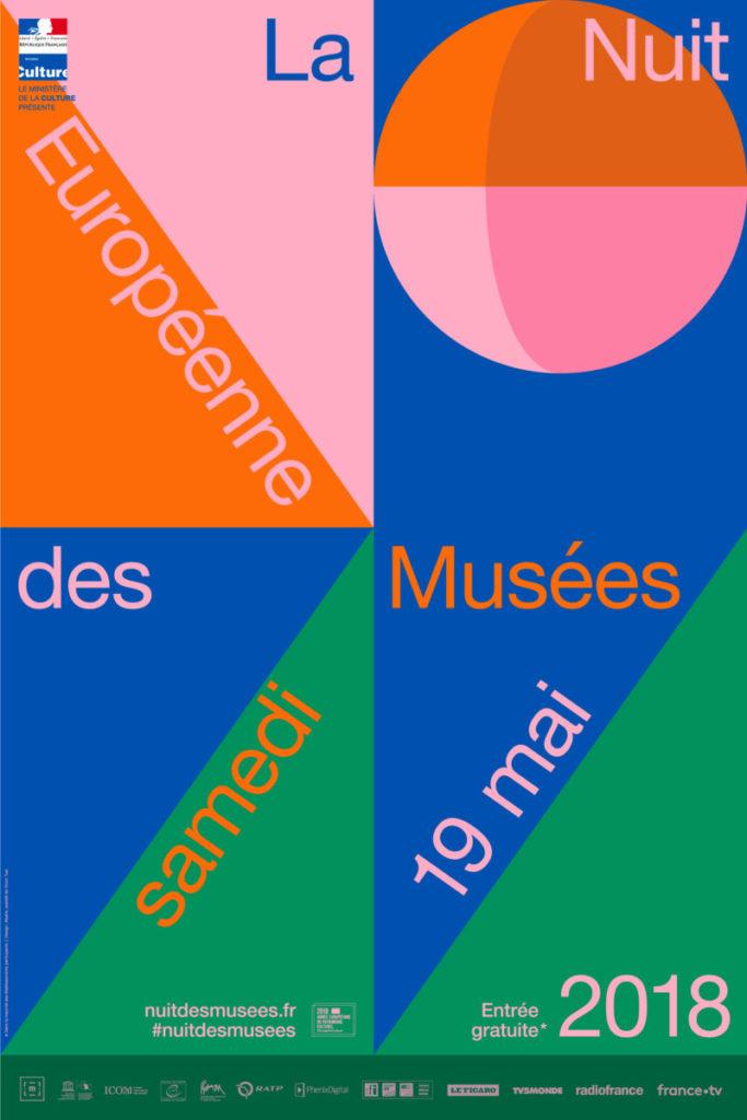 affiche Nuit des musées 2018
