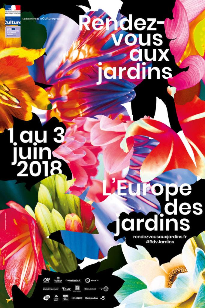 Affiche Rendez-vous Aux Jardins 2018