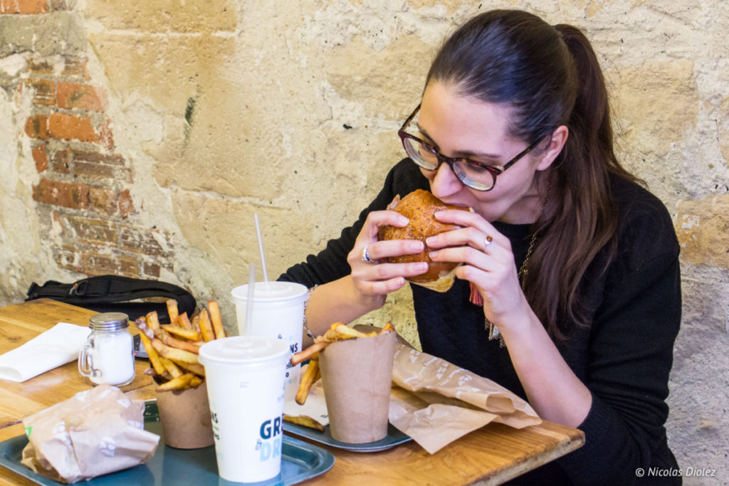 Melle Bon Plan Bioburger Cadet Paris