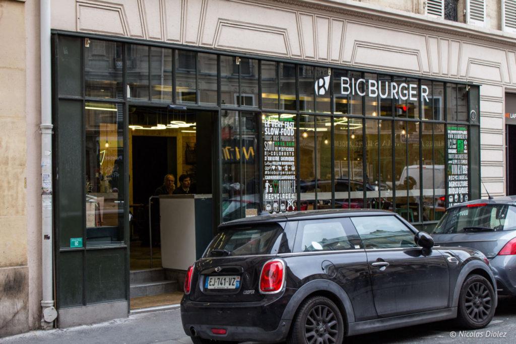 facade Bioburger Cadet Paris