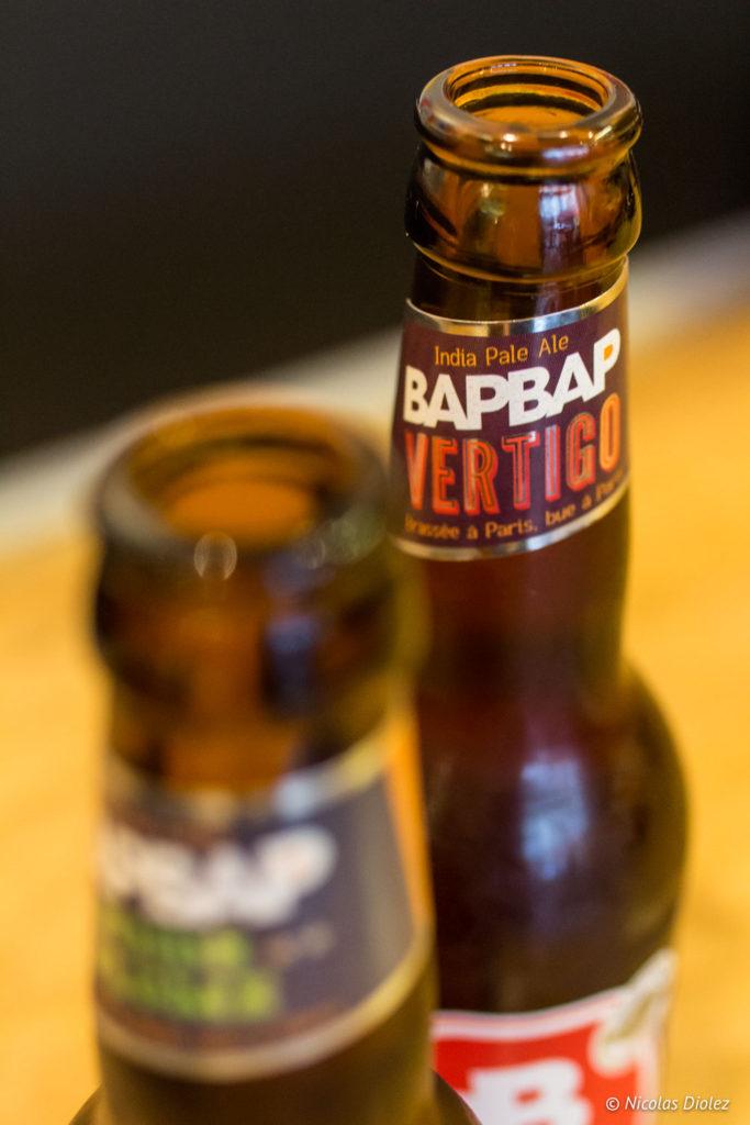 bière Le Comptoir La Brigade Paris