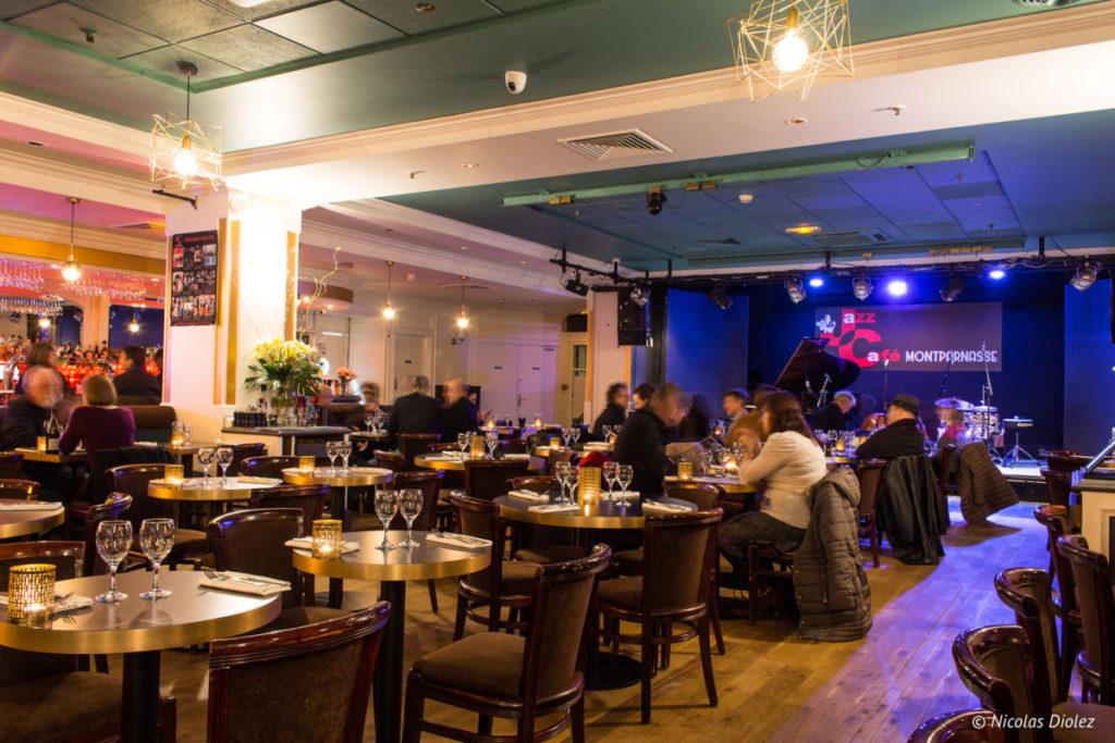 salle restaurant Jazz Café Montparnasse Paris