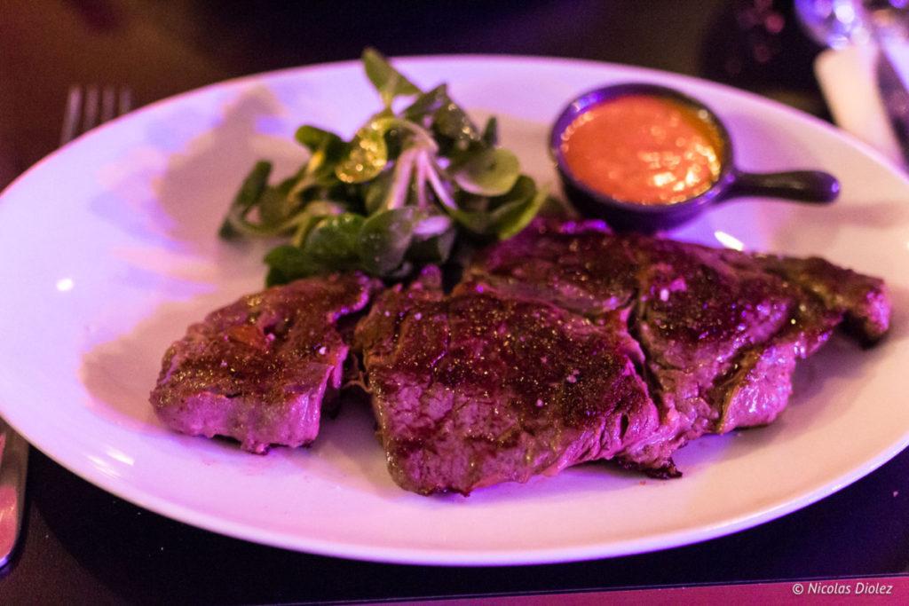 entrecôte boeuf restaurant Jazz Café Montparnasse Paris