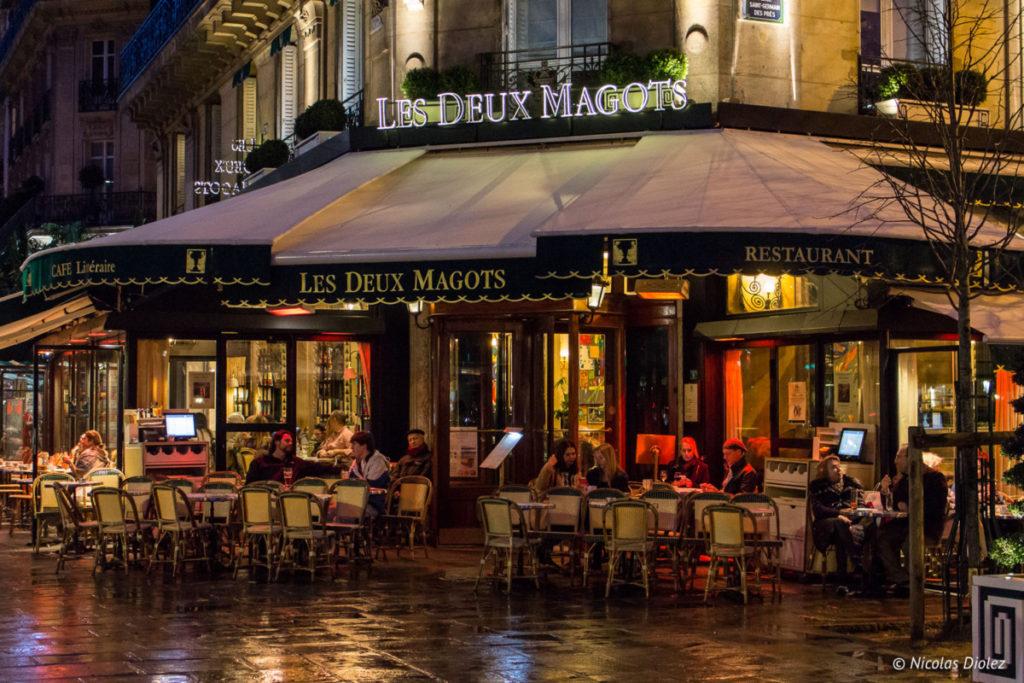 facade Les Deux Magots Paris - DR Nicolas Diolez 2018
