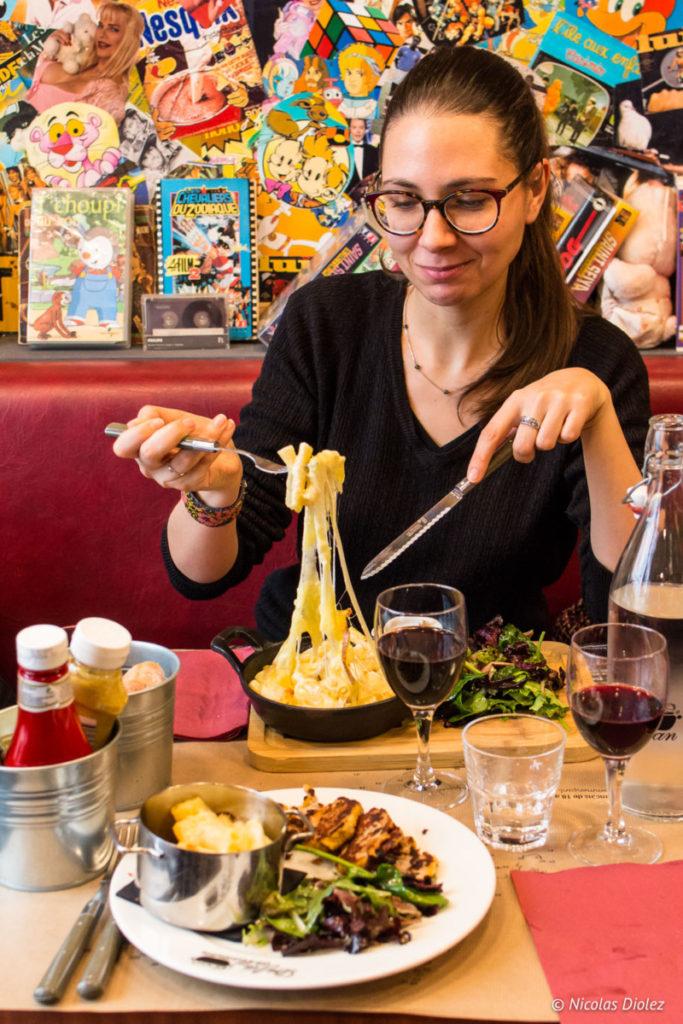 Melle Bon Plan Restaurant les Fils à Maman Abbesses Paris