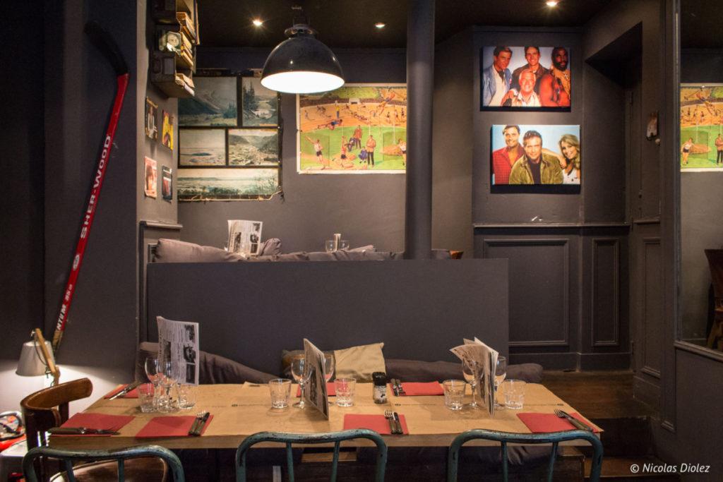 salle Restaurant les Fils à Maman Abbesses Paris