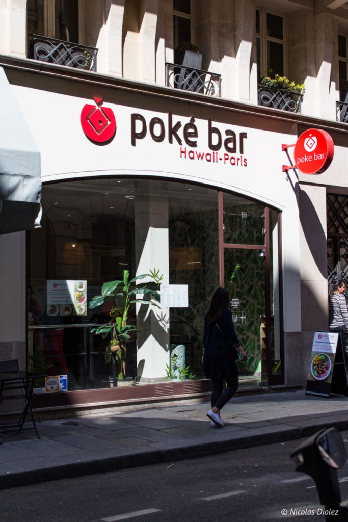 facade Poké Bar Madeleine Paris