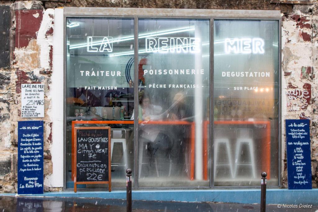 facade La Reine Mer Paris