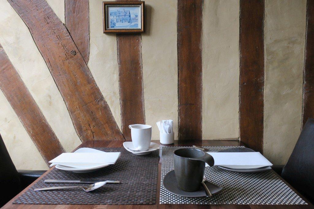 petit déjeuner Pavé d'Hôtes Beuvron-en-Auge