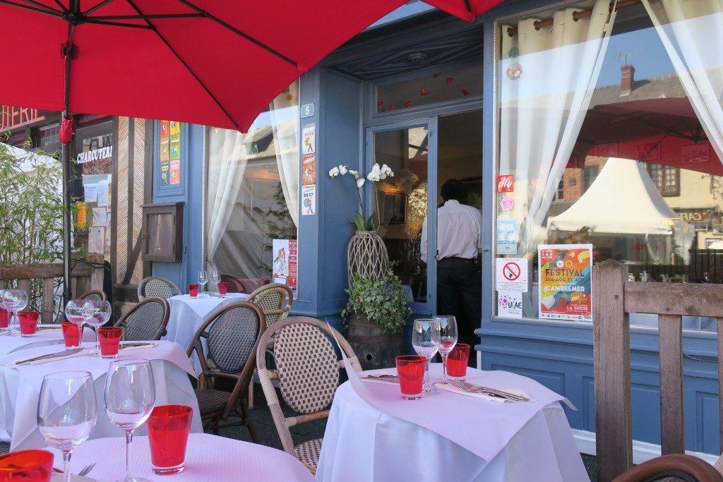 terrasse Restaurant Au P'tit Normand Cambremer