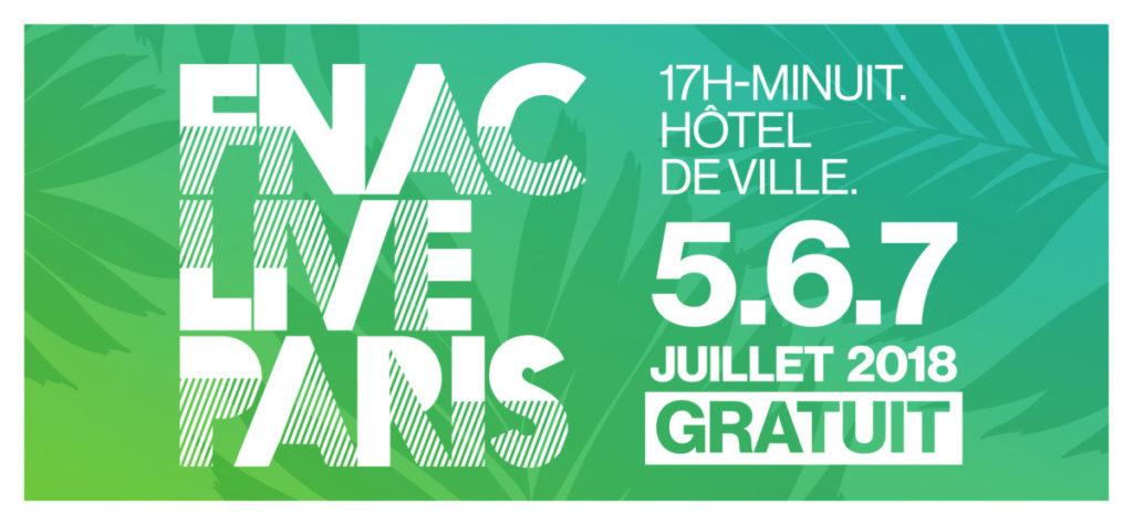 Logo FNAC LIVE PARIS 2018