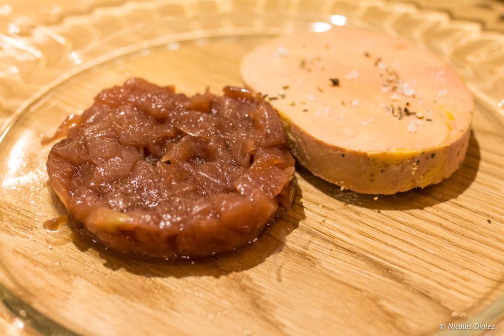 foie gras de canard Bistrot Benoit Louvre