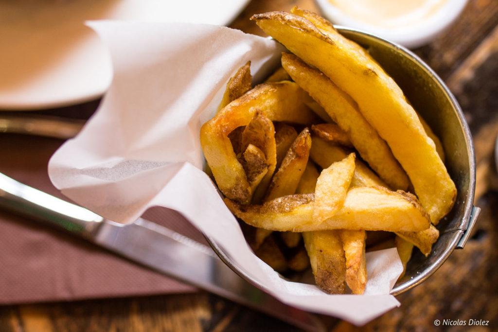 frites Bistro Burger Montparnasse Paris