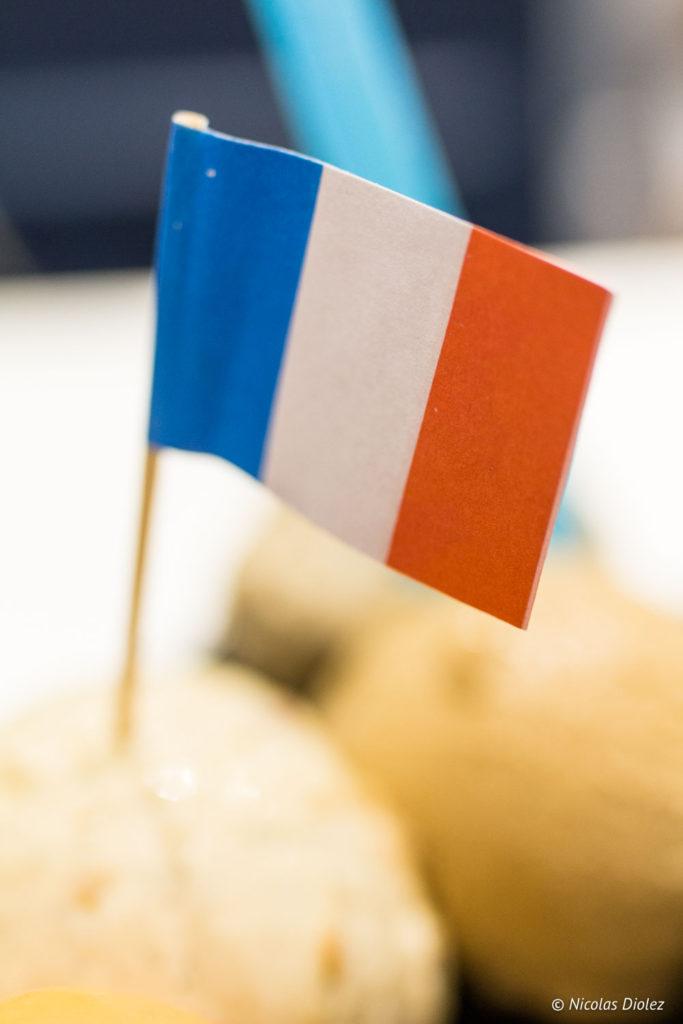 drapeau Une Glace à Paris