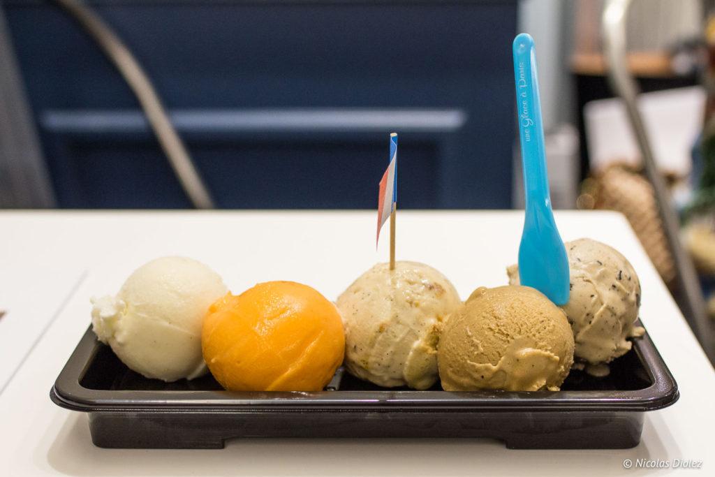 boules glaces Une Glace à Paris