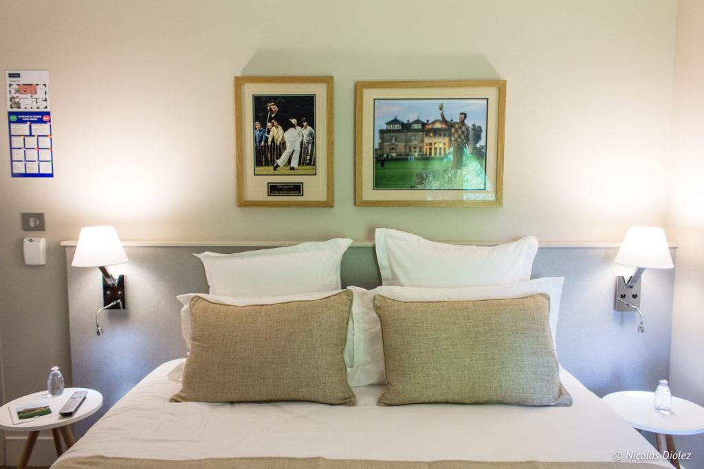 lit hôtel du Golf à Vaudreuil Eure